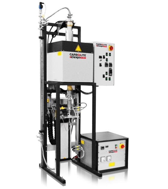 Carbolite BV-HTRV Bridgman Crystal Growth Furnace