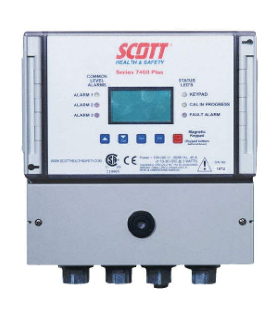 3M Scott Safety 7400 Plus Controller