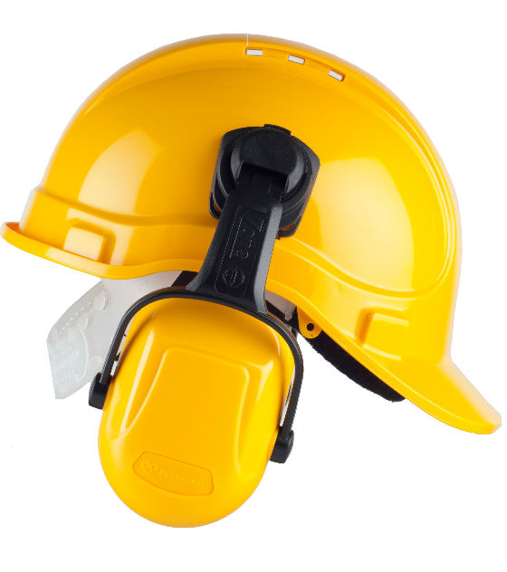 3M Scott Safety Zone Industrial Helmet Mount Ear Defenders
