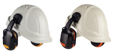 Zone Industrial Helmet Mount Ear Defenders