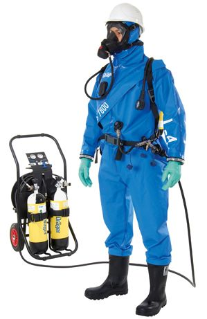 Drager CPS 7800 Gas-Tight Suit