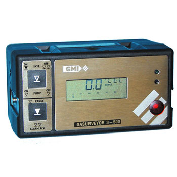 GMI Gasurveyor 500 Series (3-500, 6-500 & 11-500) Flammable Gas Leak Location Instruments