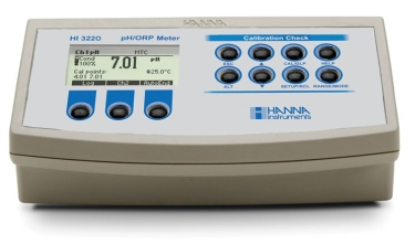 HI-3220 pH/mV/Temperature Bench Meter [HI-3220-02]