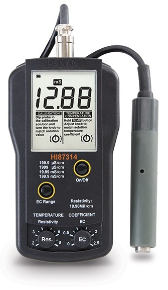 HI-87314 EC and Resistivity Meter [HI-87314]