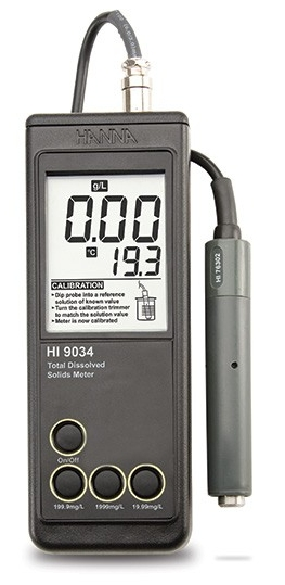 HI-9034 Waterproof TDS Meter with Probe [HI-9034]