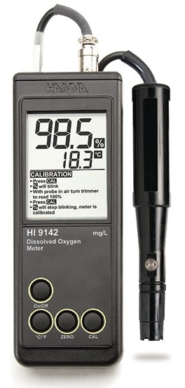 HI-9142 Simple-to-Use Dissolved Oxygen Meter [HI-9142]