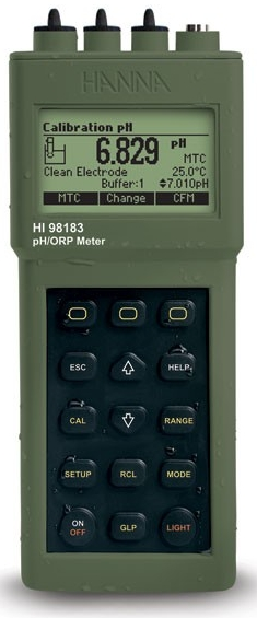 HI-98183 Waterproof pH/ORP and Temperature Meter [HI-98183]