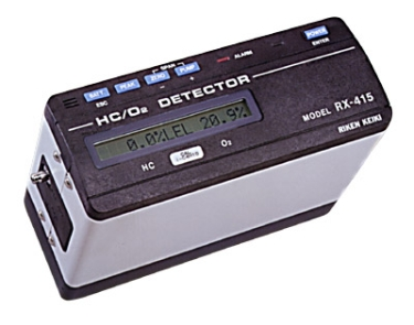 RKI Instruments RX-415 Combination HC/O2 Gas Monitor