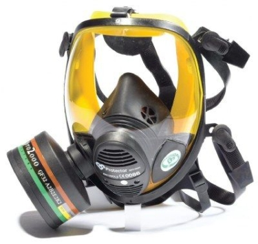 Scott Safety Vision RFF4000 Face Mask