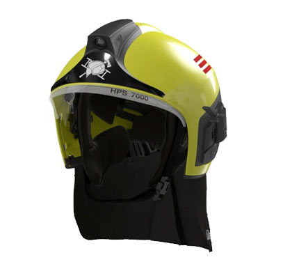 Drager HPS 7000 Firefighter's Helmet