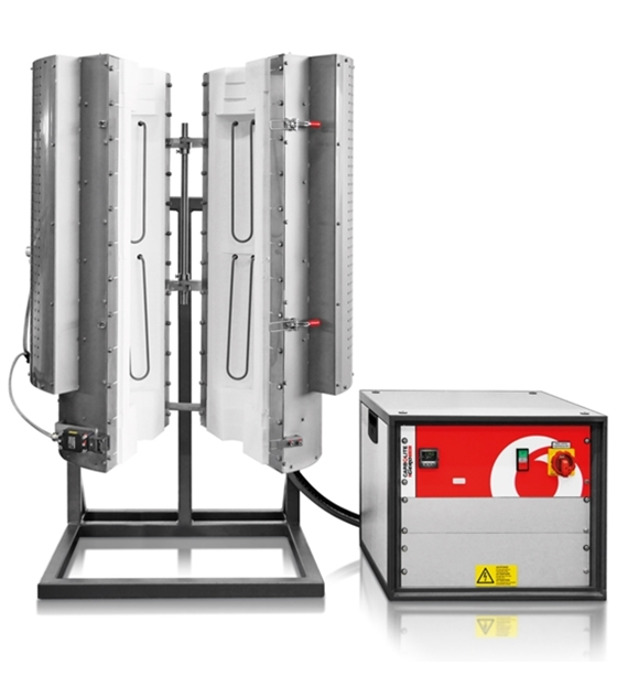 Carbolite HTRV-A Split Tube Furnaces (up to 1700°C)
