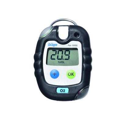 Drager Pac 5500 Single Gas Detector