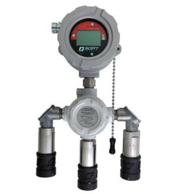 3M Scott Safety Meridian Universal Gas Detector