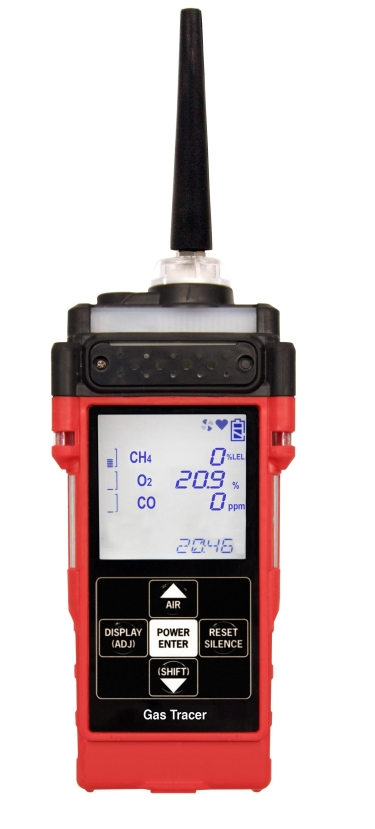 RKI Instruments Gas Tracer Leak Check, Confined Space and Barhole Gas Detector