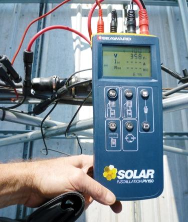 Admirable Seaward Pv150 Solar Installation Test Kit Wiring Digital Resources Funapmognl